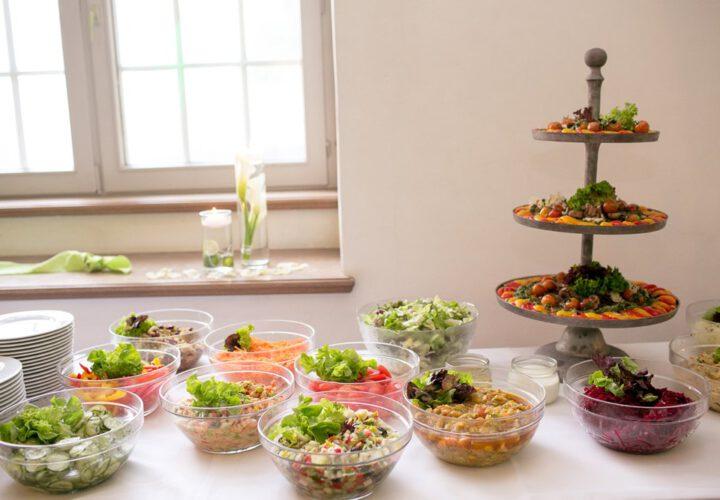 Salat Buffet Klosterhotel Wöltingerode Harz