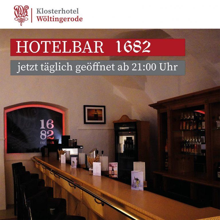 Hotelbar 1682, Wöltingerode, Goslar, Niedersachsen