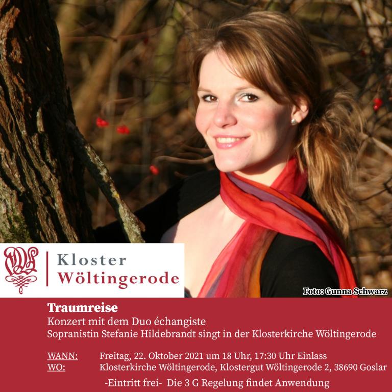 Traumreise Klosterkirche Wöltingerode Konzert mit dem Duo échangiste